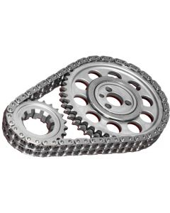 Rollmaster CS1050 Timing Chain Set Double Roller Small Block Chevy SBC 327 350 383 400 Torrington Nitrided