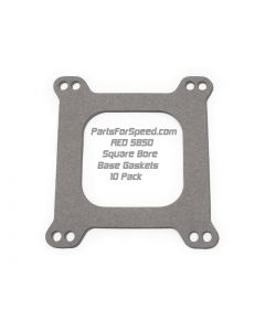 AED 5850 Square Bore Carburetor Base Gaskets 10 Pack