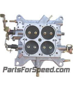 AED 6460 Holley Carburetor Base Plate Double Pumper 650 - 800 2 Corner Idle