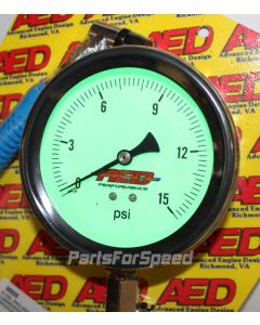 AED 9005 Drag Racing Tire Gauge 0-15 psi