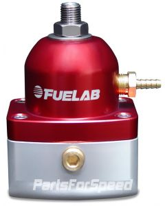 Fuelab EFI Fuel Pressure Regulator -10AN/-6AN Red