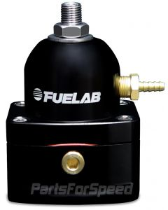 Fuelab EFI Fuel Pressure Regulator -10AN/-6AN Black