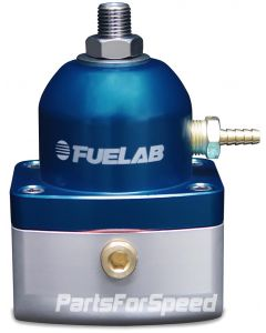Fuelab EFI Fuel Pressure Regulator -10AN/-6AN Blue