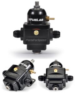 Fuelab Electronic Fuel Pressure Regulator -8AN Black FPR