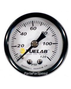Fuelab Fuel Pressure Gauge 0-120 psi
