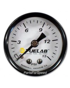 Fuelab Fuel Pressure Gauge 0-15 psi