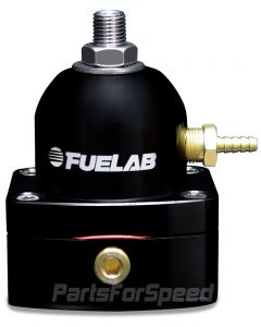 Fuelab Mini EFI Fuel Pressure Regulator -6AN/-6AN Black