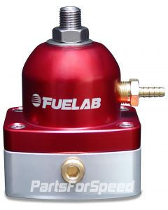 Fuelab Mini EFI Fuel Pressure Regulator -6AN/-6AN Red