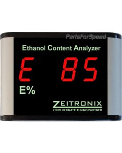 Zeitronix Ethanol Content Analyzer and Display Red ECA Flex Fuel E-85