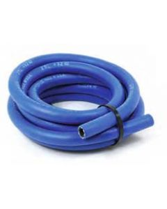 -8AN Blue Push Loc Hose - Water Oil Diesel - 10 foot roll