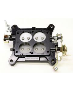 AED 6501A Billet Carburetor Baseplate Holley 4150 Double Pumper 850 950 1000 USA