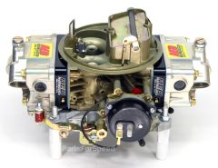 AED 650HO Holley Double Pumper Carb Billet Electric Choke Black