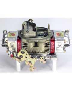 AED 650HO Holley Double Pumper Carburetor Billet Electric Choke Red