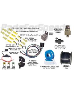 ARC AN-619DWK4 djustable Nitrous Bottle Warmer Kit 4AN 10 15 20 lb