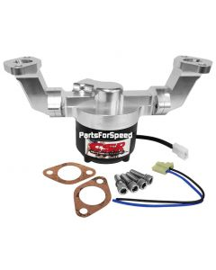 CSR 900NC Big Block Chevy Billet Electric Water Pump BBC Silver Made in the USA