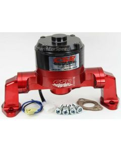 CSR 900NR Big Block Chevy Billet Electric Water Pump BBC Red Made in the USA