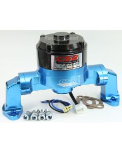 CSR 901NB Small Block Chevy Blue Electric Water Pump SBC Made in the USA