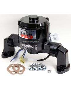 CSR 901NBLK Small Block Chevy Black Electric Water Pump SBC USA Made
