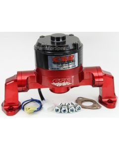 CSR 901NR Small Block Chevy Red Electric Water Pump SBC Made in the USA