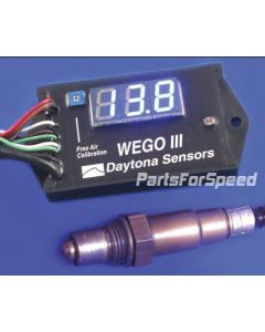 Daytona Sensors 112001 WEGO III Wideband Oxygen Sensor Air Fuel Ratio Gauge Motorcycle