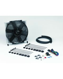 "Davies Craig 691 Transmission Oil Cooler 30 Plate & 10"" Electric Fan Combo"