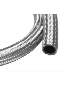 Power-Flo Double Braided -8AN Stainless Steel Racing Hose - 3 feet