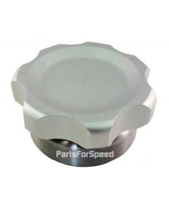 """PRP 7601 Billet Aluminum Filler Tank Cap 2-1/2"""" with Steel Bung Made in the USA"""
