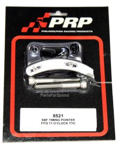 PRP 8521 Billet Adjustable Timing Pointer Ford 5.0 HO 351W 11 O'clock Made USA