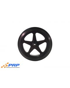 PRP 9010 Billet Wheelie Bar Wheel Black Star USA Made Each