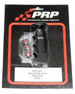 PRP 9461 Billet Pistol Grip Shifter Knob in Black - Made in the USA