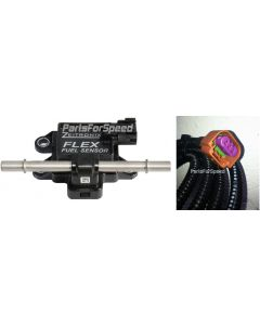 Zeitronix Flow Through Flex Fuel Sensor E-85 with Harness