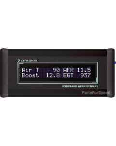 Zeitronix Wideband O2 AFR Black LCD DISPLAY ONLY - Requires Zt-2 + Oxygen Sensor