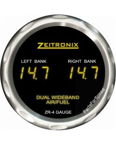 Zeitronix Zt-4 Dual Wideband O2 Sensor Air / Fuel Ratio ZR-4 Gauge AFR Made in USA
