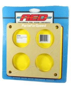 AED 6165 Birchwood 1/2 inch Holley Dominator Spacer 4-hole