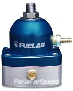 Fuelab Mini EFI Fuel Pressure Regulator -6AN/-6AN Blue