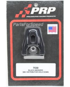 PRP 7530 Black Anodized Chevy Distributor Hold Down