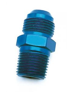 """Straight Adapter Fitting 3/8"""" NPT to 6AN Male"""